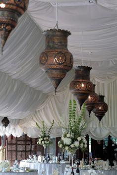 Moroccon style lanterns