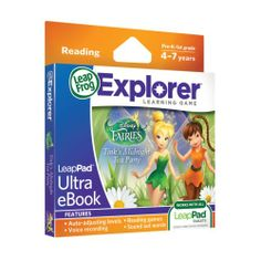 LeapFrog LeapPad Ultra eBook Adventure Builder: Disney Fairies: Tink's Midnight Tea Party (works with all LeapPad Tablets) | Multicitytoys.c...  List Price: $19.99 Discount: $10.00 Sale Price: $9.99
