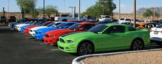 2013 Mustangs now at dealer lots