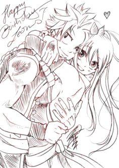 Natsu x Lucy ❤️