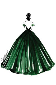 Grand Entrance by Cate Odson is printed with premium inks for brilliant color and then hand-stretched over museum quality stretcher bars. Money Back Guarantee AND Free Return Shipping. Gown Drawing, Dress Design Drawing, Dress Design Sketches, Fashion Design Drawings, Fashion Sketches, Wedding Dress Sketches, Fashion Illustration Dresses, Illustration Mode, Designs To Draw