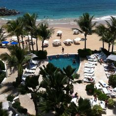 View from our San Juan hotel suite. Ahhhh.