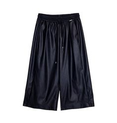 Leather look jupe culotte Gym Men, Leather, Collection, Fashion, Moda, Fashion Styles, Fashion Illustrations