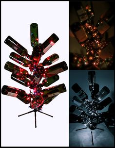 Wine Bottle Tree!! Fun for the Holidays and Great for a Gift. (Comes in 3 Sizes)  $49.95