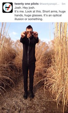 Tyler Joseph Being All Cute & Stuff  // twenty one pilots