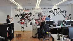 Office-Design: Schöne Büros wirken wie Doping für Arbeitnehmer - Nachrichten Lifestyle - WELT ONLINE - the office republic Whiteboard, Office, Design, Home Decor, Messages, Sketches, World, Nice Asses, Erase Board