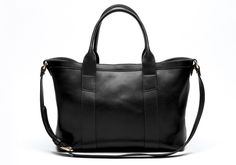 Women's Small Leather Tote w/ Strap