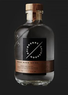Melbourne Moonshine: Branding & Packaging by Sense | Inspiration Grid | Design Inspiration