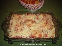 Margaret's Morsels | Chicken Parmesan