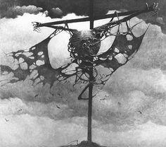 Zdzisław Beksiński. Obrazy. Lata 1968-1983