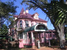 Strawberry Mansion, Melbourne #Florida  I spent a great deal of time here as a child, my Aunt Sue being one of the owners.
