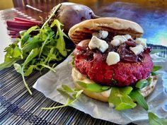 Burger z červené řepy - SENZA CARNE