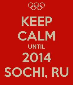 Sochi Russia 2014- I cannot wait to go