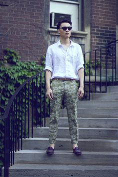Camouflage Pattern Pants | URBANE CONVICTION