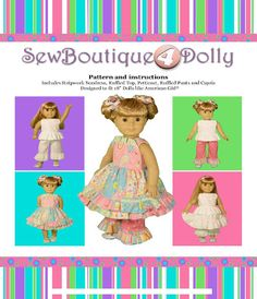Sew Boutique Free Doll Clothes Patterns for 18 Inch Dolls American Girl
