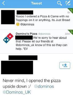 15 Social Media Fails That Might Make You Cringe - Just Bread ... #pizza #fail =D