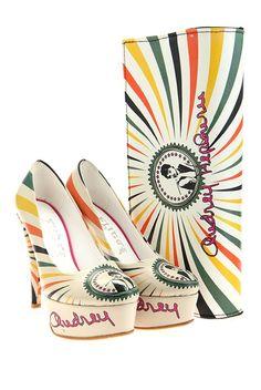 Női körömcipő, színes - Goby Shoes