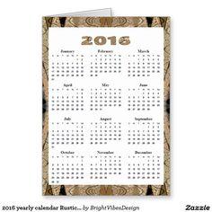 Dark Green Diamond Pattern  Yearly Calendar Large Business