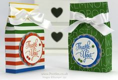 Pootles: EOS Hand Cream Bag Tutorial - One Big Meaning Stamp Set - Schoolhouse DSP