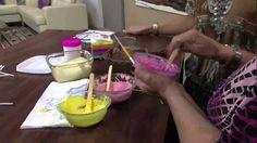 Mulher.com 14/03/2013 Ucha - Pirulito de chocolate pintura  parte 1