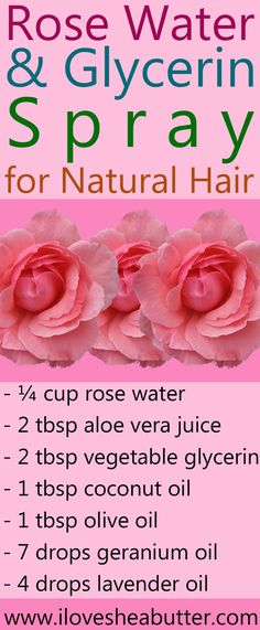 Rose water and glycerin for natural hair, oh yeah baby! It's refreshing, hydra. - - Rose water and glycerin for natural hair, oh yeah baby! It's refreshing, hydra… – - Rose Water Glycerin, Glycerin For Hair, Rose Water Hair, Rose Hair, Low Porosity Hair Products, Hair Porosity, Natural Beauty Tips, Natural Hair Styles, Natural Face