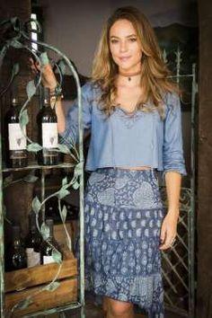 Em 'Além do Tempo', Paolla Oliveira vivia a personagem Melissa que estava sempre…
