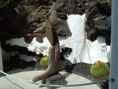 All over the island of Lanzarote Manriques art structures appear