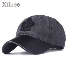 Xthree women baseball cap canada embroidery Letter snapback hat for men cap  casquette gorras Hat Sizes 09caaa102044
