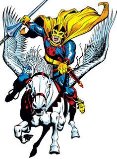 Black Knight - Marvel Comics - Avengers - Dane Whitman