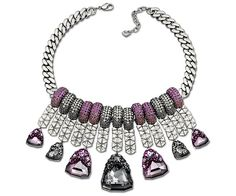 #FW12 Collection: Serena Necklace by #Swarovski - purple #sparkle