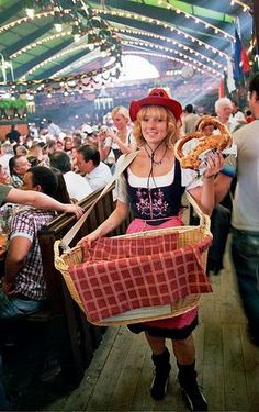 Oktoberfest they have Giant Pretzels!!! you know how i feel about pretzels