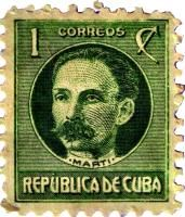 TIMETABLE HISTORY OF CUBA      |Marti Stamp