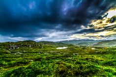 Hardangervidda mountain plateau, high above the Hardangerfjord, Norway. Photo by Andreas Lyng, via 500px