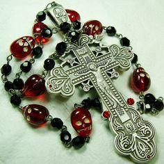 Muertos Skull Rosary