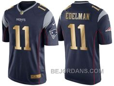 http://www.bejordans.com/free-shipping-60-off-nike-new-england-patriots-11-julian-edelman-navy-blue-mens-nfl-game-2016-christmas-golden-edition-jersey.html FREE SHIPPING ! 60% OFF! NIKE NEW ENGLAND PATRIOTS #11 JULIAN EDELMAN NAVY BLUE MEN'S NFL GAME 2016 CHRISTMAS GOLDEN EDITION JERSEY Only $20.00 , Free Shipping!