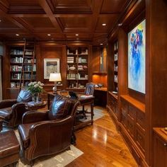 Traditional Home Office Design, Pictures, Remodel, Decor and Ideas ...