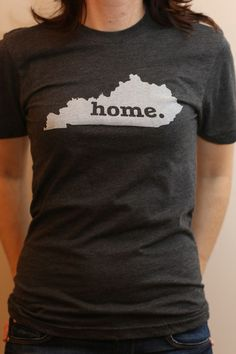 The Kentucky Home T, super soft, and a portion of profits are donated to multiple sclerosis research. Go Big Blue, Home T Shirts, My Old Kentucky Home, Dress Me Up, What To Wear, Style Me, Cute Outfits, Kentucky Shirts, T Shirts For Women