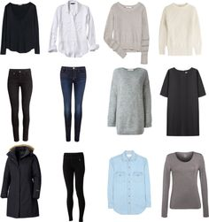 Classic packing list: Winter