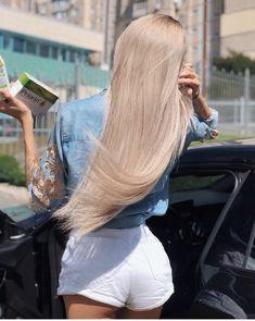 ❤️Ka¥la Kiss❤️ Very Long Hair, Long Curly Hair, Curly Hair Styles, Beautiful Long Hair, Gorgeous Hair, Blonde Beauty, Hair Beauty, Hair Inspo, Hair Inspiration