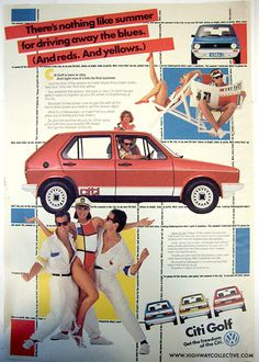 Retro Ads, Vintage Ads, Port Elizabeth South Africa, Johannesburg City, City Golf, Old Advertisements, Advertising, Volkswagen Golf Mk1, Vw Group