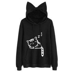 Women's Clothing 2019 Rep Lil Peep Fashion Print Cat Crop Top Women Summer Hoodies Sweatshirt Sexy K-pops Harajuku Cat Hooded Fashion Xxl