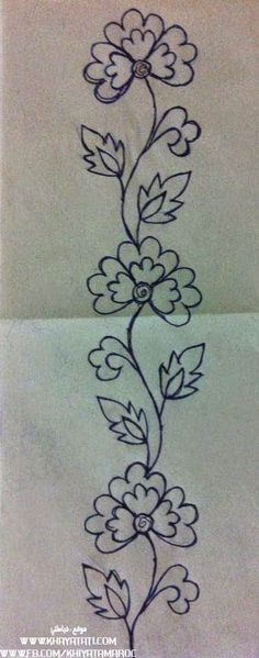 Latest Absolutely Free Embroidery Patterns mexican Tips Embroidery but has exist. Latest Absolutely Free Embroidery Patterns mexican Tips Embroidery but has existed forever—which Hand Embroidery Stitches, Hand Embroidery Designs, Ribbon Embroidery, Machine Embroidery, Embroidery Ideas, Simple Embroidery, Flower Patterns, Flower Designs, Sewing Patterns