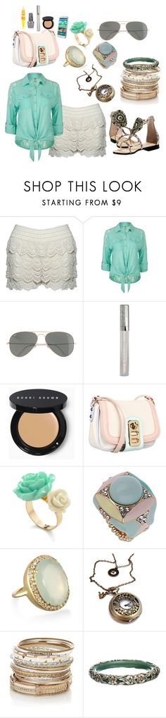 """egg shells"" by sophisticated106 ❤ liked on Polyvore featuring Rare London, Full Tilt, J.Crew, Viva La Diva, Bobbi Brown Cosmetics, Maybelline, Emilio Pucci, ALDO, OPI and Samsung"