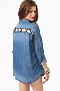 Denim Dream Shirt  $98.00