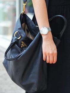 3a244b3401e6 Michelle Peep her awesome Prada bag and Cartier watch Cheap Handbags