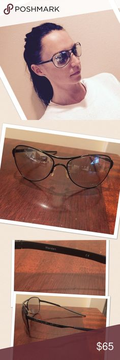"""Oakley sunglasses  Oakley sunglasses . These are awesome the frame is called """"warden"""" they are a black frame with an almost see through lens. The lens has a tint to it. Very comfortable Oakley Accessories Glasses"""