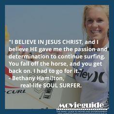 #BethanyHamilton #SoulSurfer