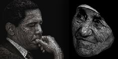 28 Excellent Examples Of Typography Portraits