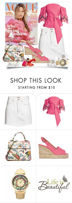 """Bez naslova #107"" by miki-383 on Polyvore featuring moda, H&M, Peter Pilotto, Tory Burch, Castañer i Brewster Home Fashions"