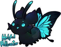 [CLOSED] Spring Pacadvent- Garden helper by Lighterium Cute Fantasy Creatures, Mythical Creatures Art, Cute Creatures, Cute Animal Drawings Kawaii, Kawaii Drawings, Cute Drawings, Pretty Art, Cute Art, Cute Alien